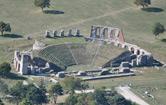 Il Teatro Romano visto dal Ristorante